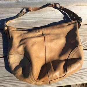 Vintage coach handbag .. hobo style